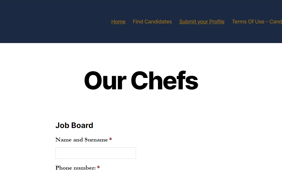 SA-Chefs-Association